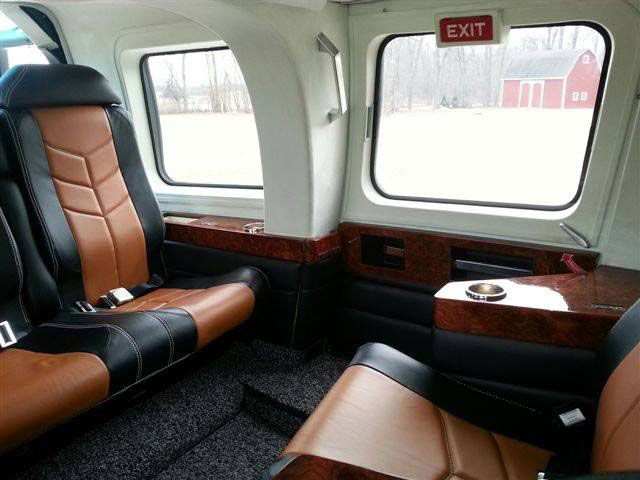 custom helicopter interiors