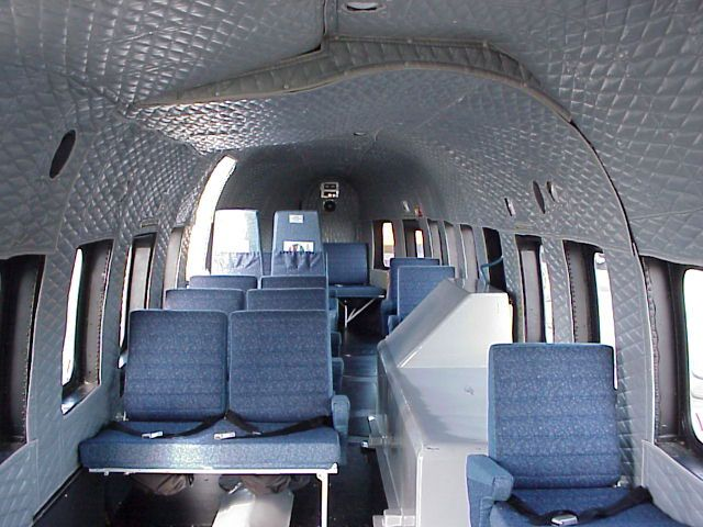 helicopter soft interiors