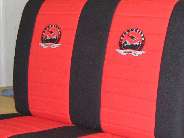 Custom helicopter seats